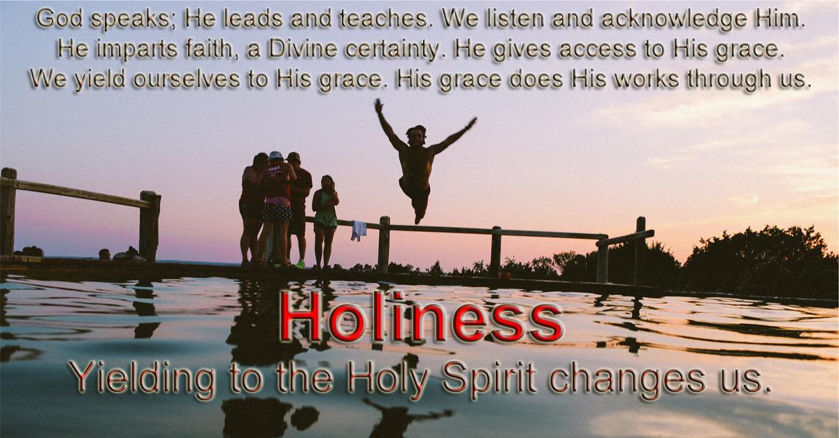 RighteousnessToHoliness